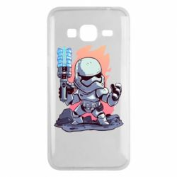 Чохол для Samsung J3 2016 Stormtrooper chibi