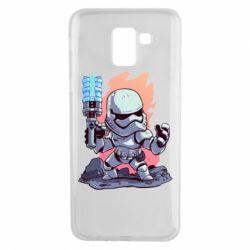 Чохол для Samsung J6 Stormtrooper chibi