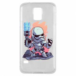 Чохол для Samsung S5 Stormtrooper chibi