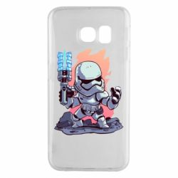 Чохол для Samsung S6 EDGE Stormtrooper chibi
