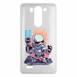 Чохол для LG G3 Mini/G3s Stormtrooper chibi - FatLine