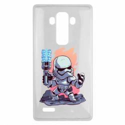 Чохол для LG G4 Stormtrooper chibi - FatLine