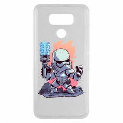 Чохол для LG G6 Stormtrooper chibi - FatLine