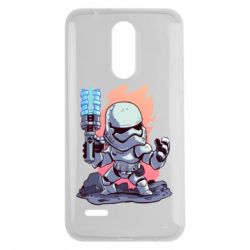 Чохол для LG K7 2017 Stormtrooper chibi - FatLine