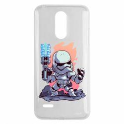 Чохол для LG K8 2017 Stormtrooper chibi - FatLine