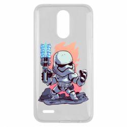Чохол для LG K10 2017 Stormtrooper chibi - FatLine