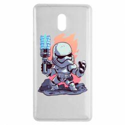 Чохол для Nokia 3 Stormtrooper chibi - FatLine