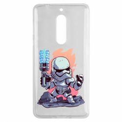 Чохол для Nokia 5 Stormtrooper chibi - FatLine