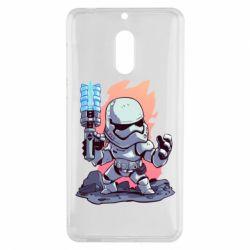 Чохол для Nokia 6 Stormtrooper chibi - FatLine