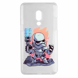 Чохол для Meizu 15 Plus Stormtrooper chibi - FatLine