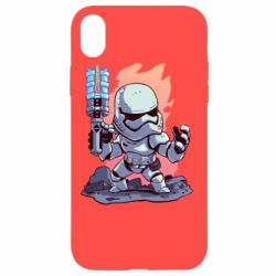 Чохол для iPhone XR Stormtrooper chibi