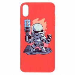 Чохол для iPhone Xs Max Stormtrooper chibi