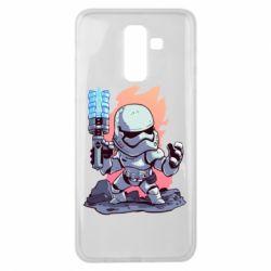 Чохол для Samsung J8 2018 Stormtrooper chibi