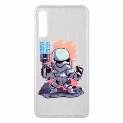 Чохол для Samsung A7 2018 Stormtrooper chibi