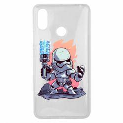 Чохол для Xiaomi Mi Max 3 Stormtrooper chibi - FatLine