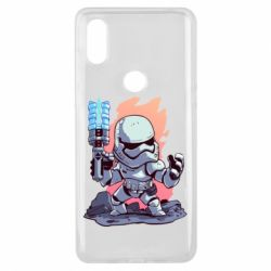 Чохол для Xiaomi Mi Mix 3 Stormtrooper chibi - FatLine