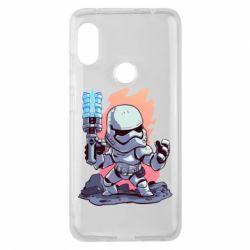 Чохол для Xiaomi Redmi Note 6 Pro Stormtrooper chibi - FatLine