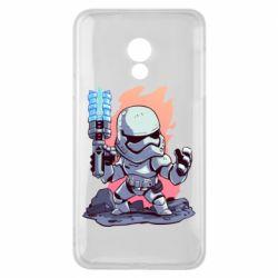Чохол для Meizu 15 Lite Stormtrooper chibi - FatLine