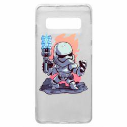 Чохол для Samsung S10+ Stormtrooper chibi