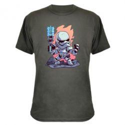 Камуфляжна футболка Stormtrooper chibi