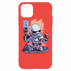 Чохол для iPhone 11 Pro Max Stormtrooper chibi