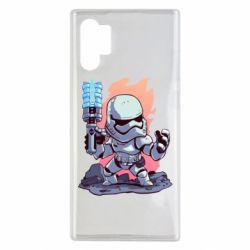 Чохол для Samsung Note 10 Plus Stormtrooper chibi