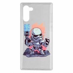 Чохол для Samsung Note 10 Stormtrooper chibi