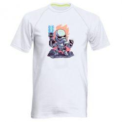 Чоловіча спортивна футболка Stormtrooper chibi