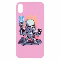 Чохол для iPhone X/Xs Stormtrooper chibi