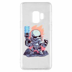Чохол для Samsung S9 Stormtrooper chibi