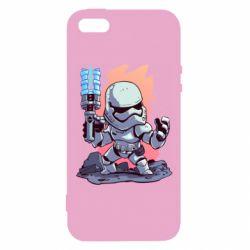 Чохол для iphone 5/5S/SE Stormtrooper chibi