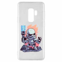 Чохол для Samsung S9+ Stormtrooper chibi