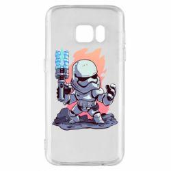 Чохол для Samsung S7 Stormtrooper chibi