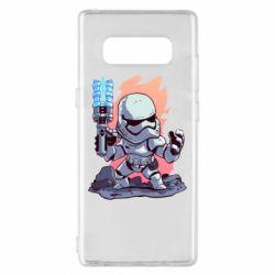 Чохол для Samsung Note 8 Stormtrooper chibi