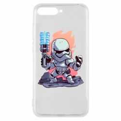 Чохол для Huawei Y6 2018 Stormtrooper chibi - FatLine