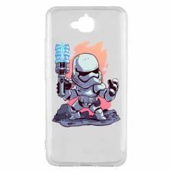 Чохол для Huawei Y6 Pro 2018 Stormtrooper chibi - FatLine