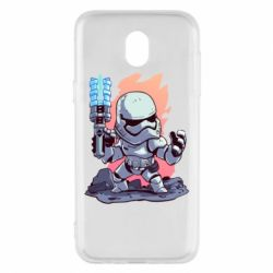 Чохол для Samsung J5 2017 Stormtrooper chibi