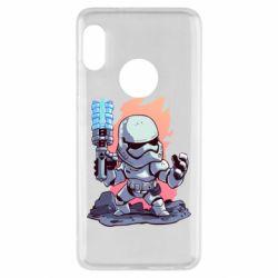 Чохол для Xiaomi Redmi Note 5 Stormtrooper chibi - FatLine