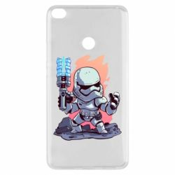 Чохол для Xiaomi Mi Max 2 Stormtrooper chibi - FatLine