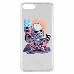 Чохол для Xiaomi Mi Note 3 Stormtrooper chibi - FatLine