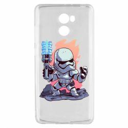 Чохол для Xiaomi Redmi 4 Stormtrooper chibi - FatLine