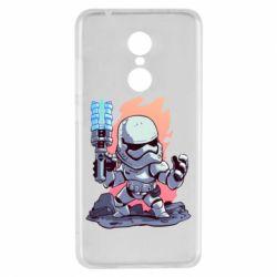 Чохол для Xiaomi Redmi 5 Stormtrooper chibi - FatLine