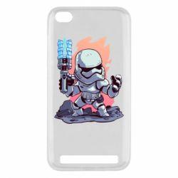 Чохол для Xiaomi Redmi 5a Stormtrooper chibi - FatLine