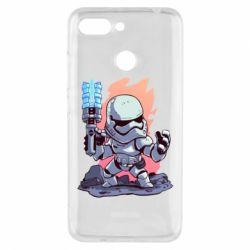 Чохол для Xiaomi Redmi 6 Stormtrooper chibi - FatLine