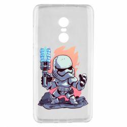 Чохол для Xiaomi Redmi Note 4 Stormtrooper chibi - FatLine