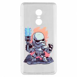 Чохол для Xiaomi Redmi Note 4x Stormtrooper chibi - FatLine