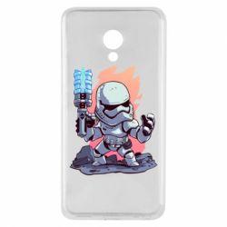 Чохол для Meizu M5 Stormtrooper chibi - FatLine
