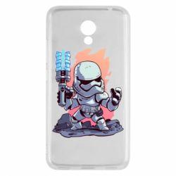 Чохол для Meizu M5c Stormtrooper chibi - FatLine