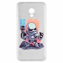 Чохол для Meizu M5s Stormtrooper chibi - FatLine