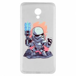 Чохол для Meizu M5 Note Stormtrooper chibi - FatLine